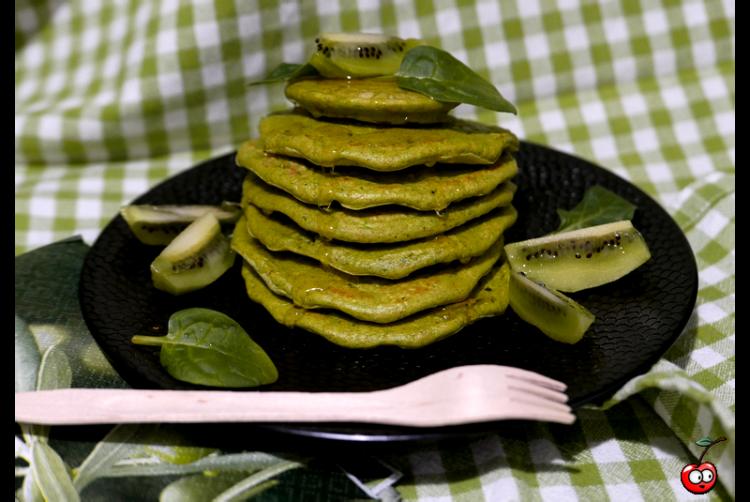 Recette des Green Pancakes par Caporal Cerise (caporalcerise.Fr)