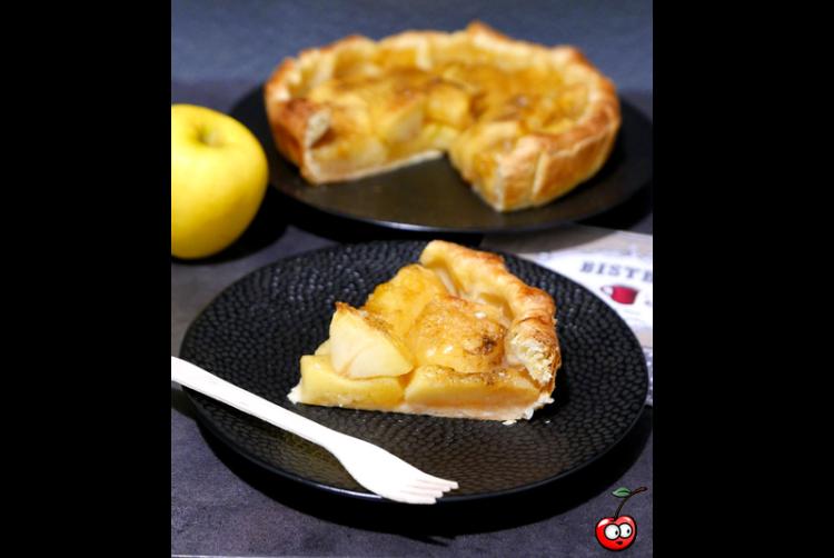 Recette de la tarte aux pommes XXL par Caporal Cerise (caporalcerise.fr)