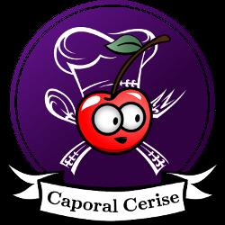 Logo du site de recettes classiques, healthy et pornfood Caporal Cerise (caporalcerise.fr)
