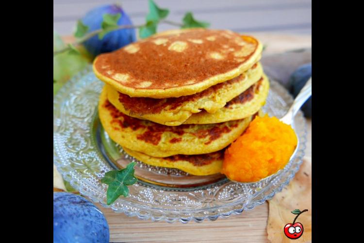 Recette des pumpkin pancakes par Caporal Cerise (caporalcerise.fr)