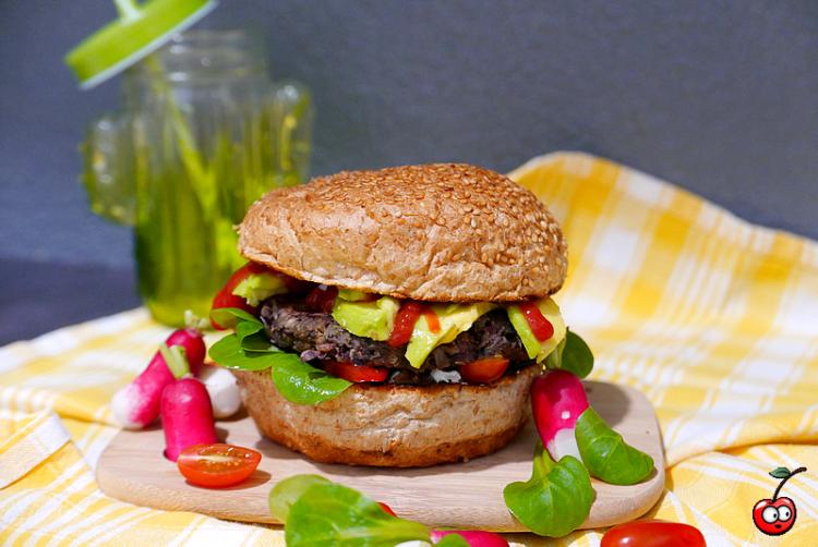 Recette du burger végétarien par caporal cerise (caporalcerise.Fr)