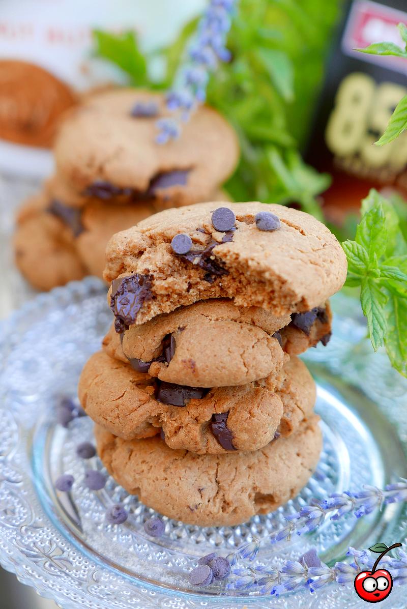 Recette des cookies au peanut butter et pépites de chocolat par caporal cerise (caporalcerise.Fr)