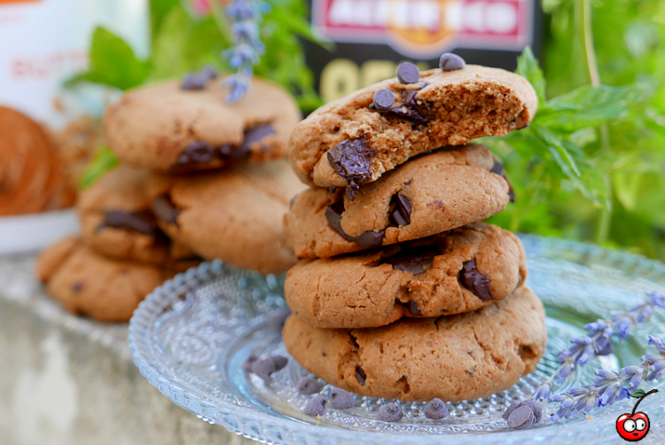 Recette des cookies au peanut butter et pépites de chocolat par caporalcerise (caporalcerise.Fr)