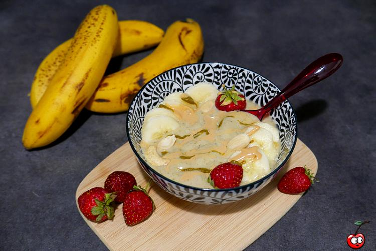 Recette de la nice cream banane pistache par caporal cerise (caporalcerise.Fr)