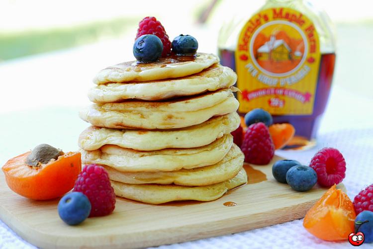 Recette des Pancakes classique (recette de base) par caporal cerise (caporalcerise.Fr)