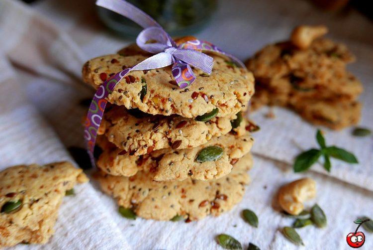 Recette des cookies aux graines par caporal cerise (caporalcerise.Fr)