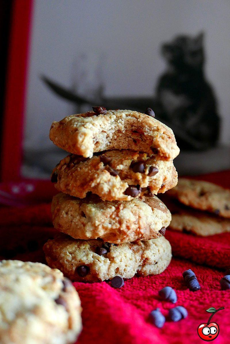 Recette des banana bread cookies aux pépites de chocolat par caporal cerise (caporalcerise.Fr)