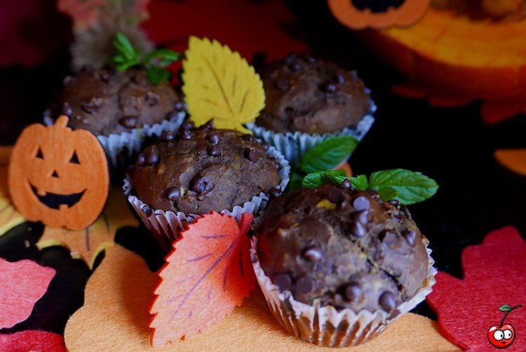Recettes des muffins d'halloween au chocolat par caporal cerise (caporalcerise.fr)