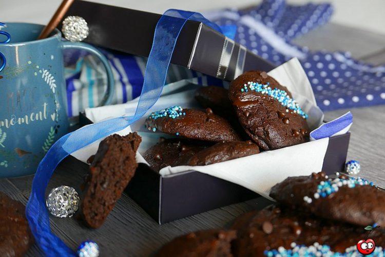 Recette des cookies triple chocolat par caporal cerise (caporalcerise.Fr)