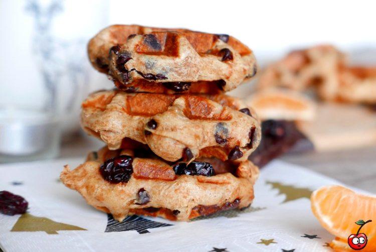 Recette des gaufres briochées de Noël par caporal cerise (caporalcerise.fr)
