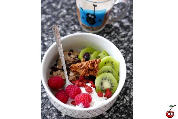 Recette du porridge & co, pour les petits déjeuners pressé par caporal cerise (caporalcerise.Fr)