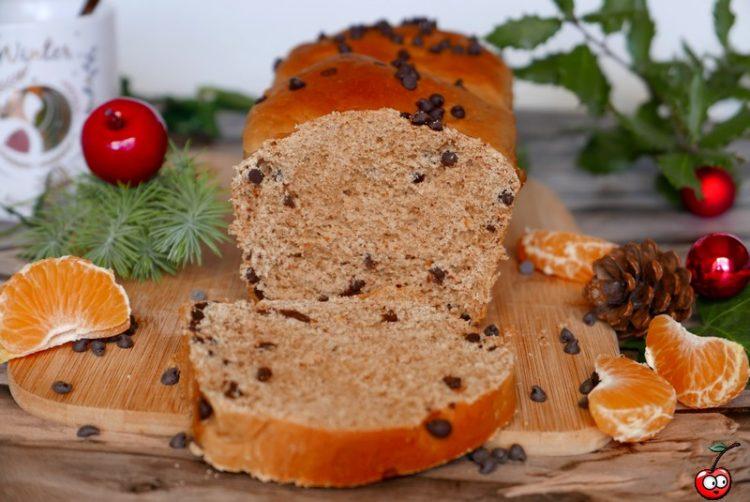 Recette de la brioche à la mandarine et pépites de chocolat par caporal cerise (caporalcerise.fr)
