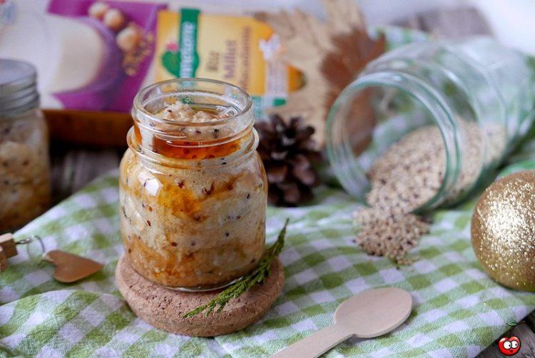 Recette du quinoa et semoule au lait avec du sirop d'érable par caporal cerise (caporalcerise.Fr)
