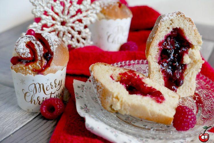 Recette des roulés brioché aux fruits rouges par caporal cerise (caporalcerise.fr)