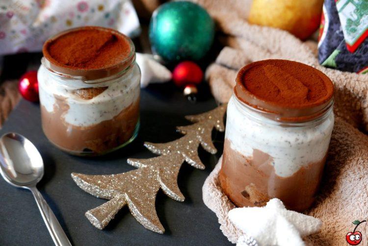 Recette du tiramisu straciatella poire chocolat par caporalcerise (caporalcerise.Fr)