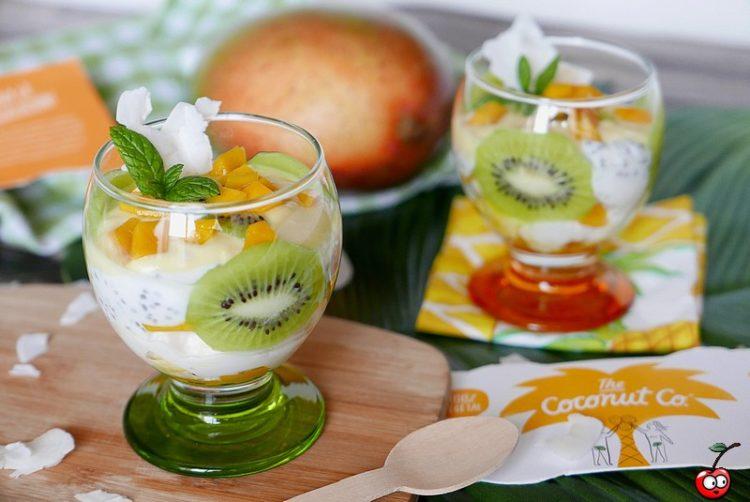Recette de la coupe coco mangue passion par caporal cerise (caporalcerise.fr)