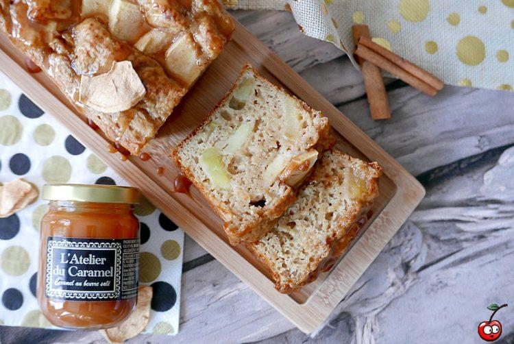 Recette du mini cake aux pommes et caramel beurre salé par caporal cerise (caporalcerise.Fr)