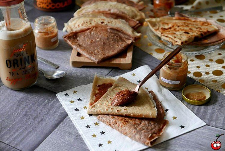 Recette des crêpes biscuit vanille et chocolat par caporal cerise (caporalcerise.Fr)