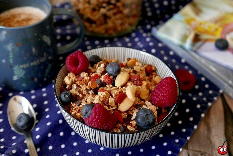 Recette du granola, recette de base par caporal cerise (caporalcerise.Fr)