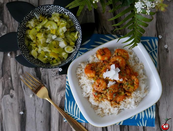 Recette du curry de crevettes par caporal cerise (caporalcerise.fr)