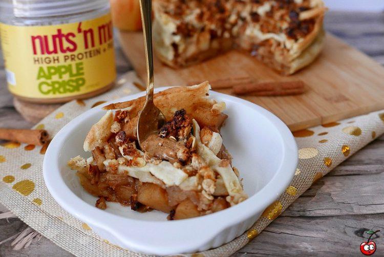 Recette de la tarte crumble aux pommes par caporal cerise (caporalcerise.Fr)