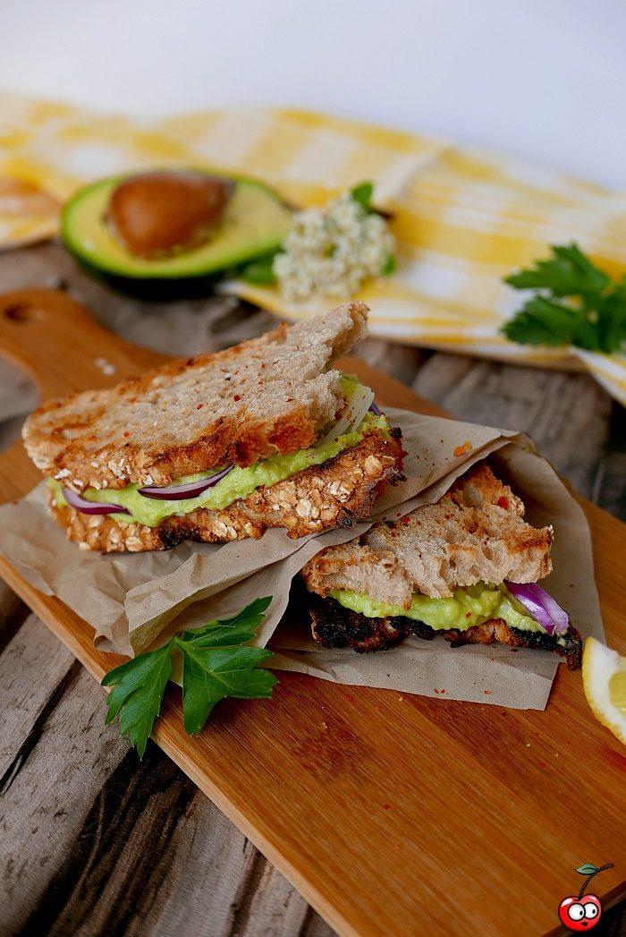 recette des avocados eggs sandwich par caporal cerise (caporalcerise.Fr)