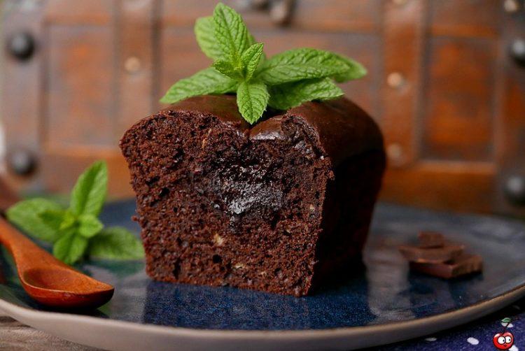 Recette du cake coeur fondant au chocolat par caporalcerise (caporalcerise.fr)