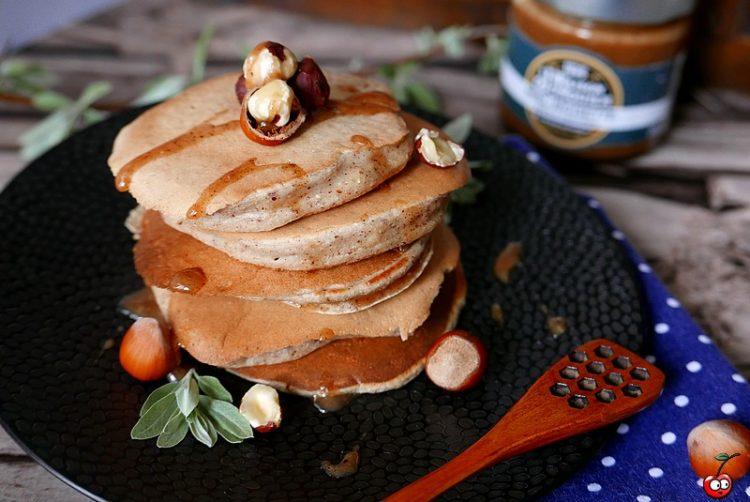 Recette des pancakes à la noisette et à la chataigne par caporalcerise (caporalcerise.fr)