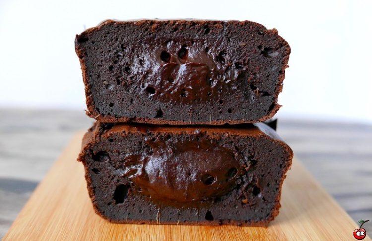 Recette du fondant au chocolat noir avocat par caporal cerise (caporalcerise.Fr)