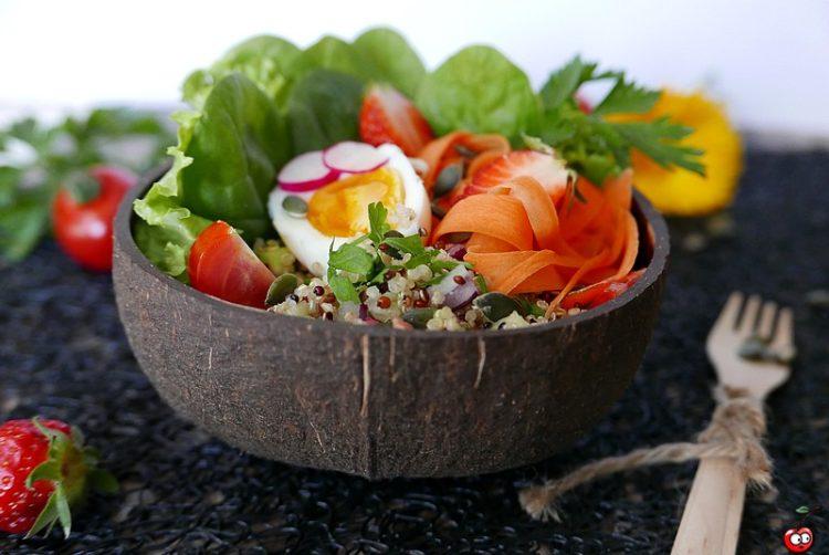 Recette du taboulé de quinoa par caporal cerise (caporalcerise.fr)
