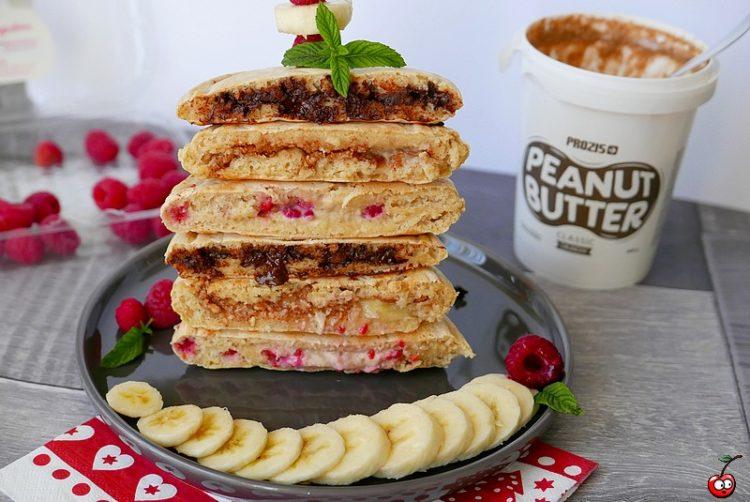 Recette des stuffed pancakes par caporal cerise (caporalcerise.fr)