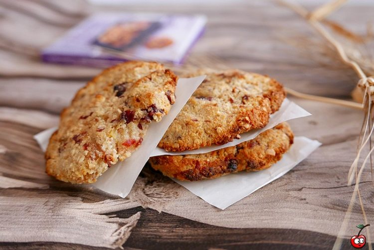 Recette des cookies avoine et fruits secs par caporal cerise (caporalcerise.Fr)