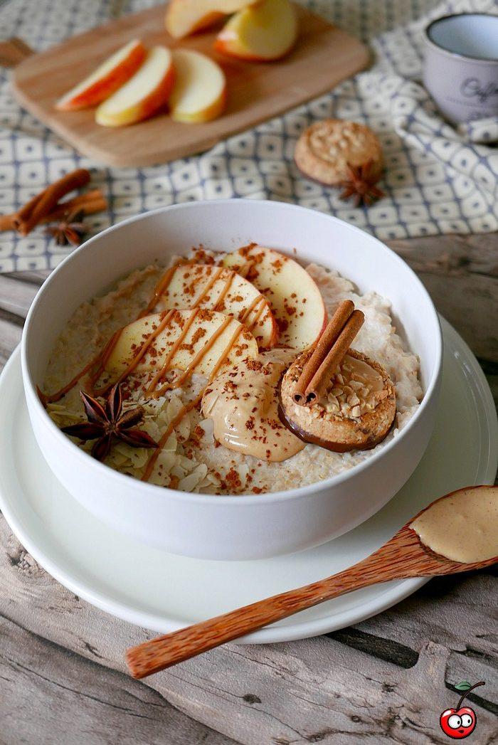 recette du porridge aux saveurs automnales par caporalcerise (caporalcerise.Fr)