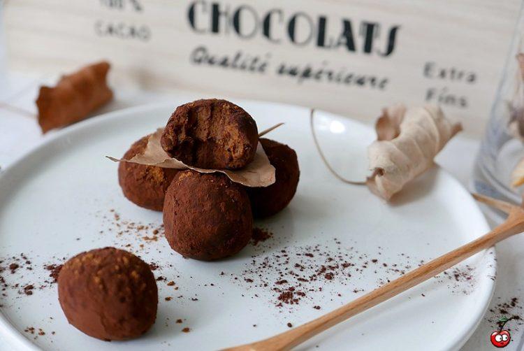 Recette des truffes au chocolat et au potimarron par caporal cerise (caporalcerise.fr)