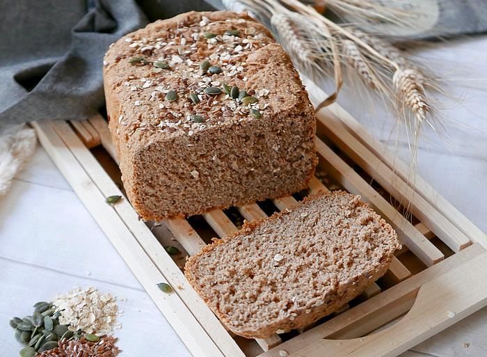 Recette du pain complet par caporalcerise (caporalcerise.fr)